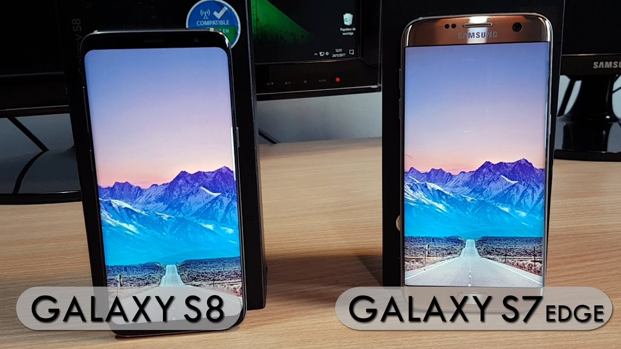 Galaxy S8 vs Galaxy S7 EDGE - Comparativa
