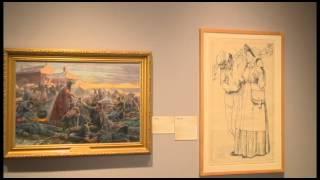 """Mort Künstler: The Art of Adventure"" exhibit tour, NRM"