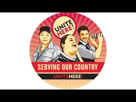 'Serving Our Country': Hospitality Workers' Union Organizes National Day of Action