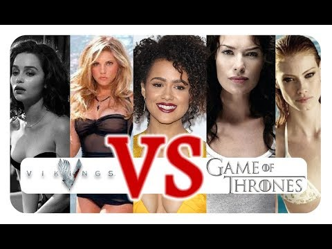 Woman from VIKINGS vs GAME OF THRONES