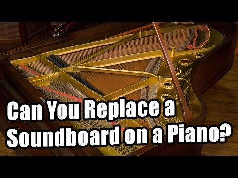 Can You Replace a Soundboard on a Piano?