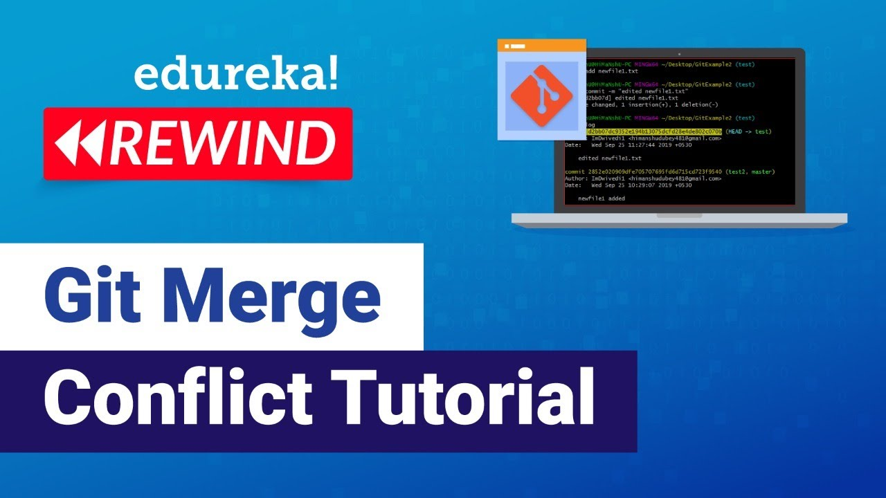 Git Merge Conflict Tutorial | Resolving Merge Conflicts In Git