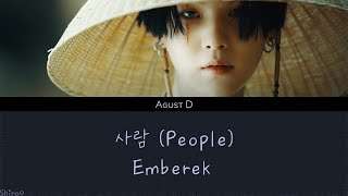 Download song Agust D - 사람 (People) (Han | Rom | Hunsub.)