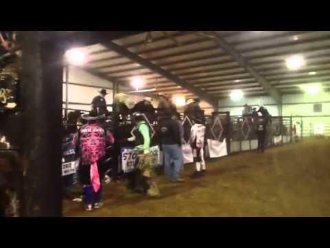 Clay Clark & Josh Carlisle - short ride 2.11.12 Shelbyville, Tenn