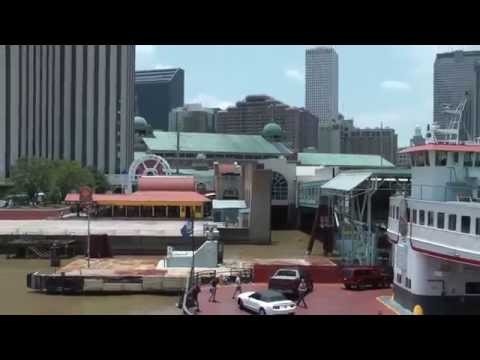 Riding The Steamboat Natchez on Mississippi River -  New Orleans