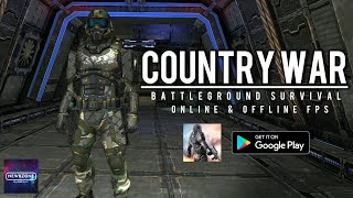 Country War: Battleground Survival FPS Android Gameplay