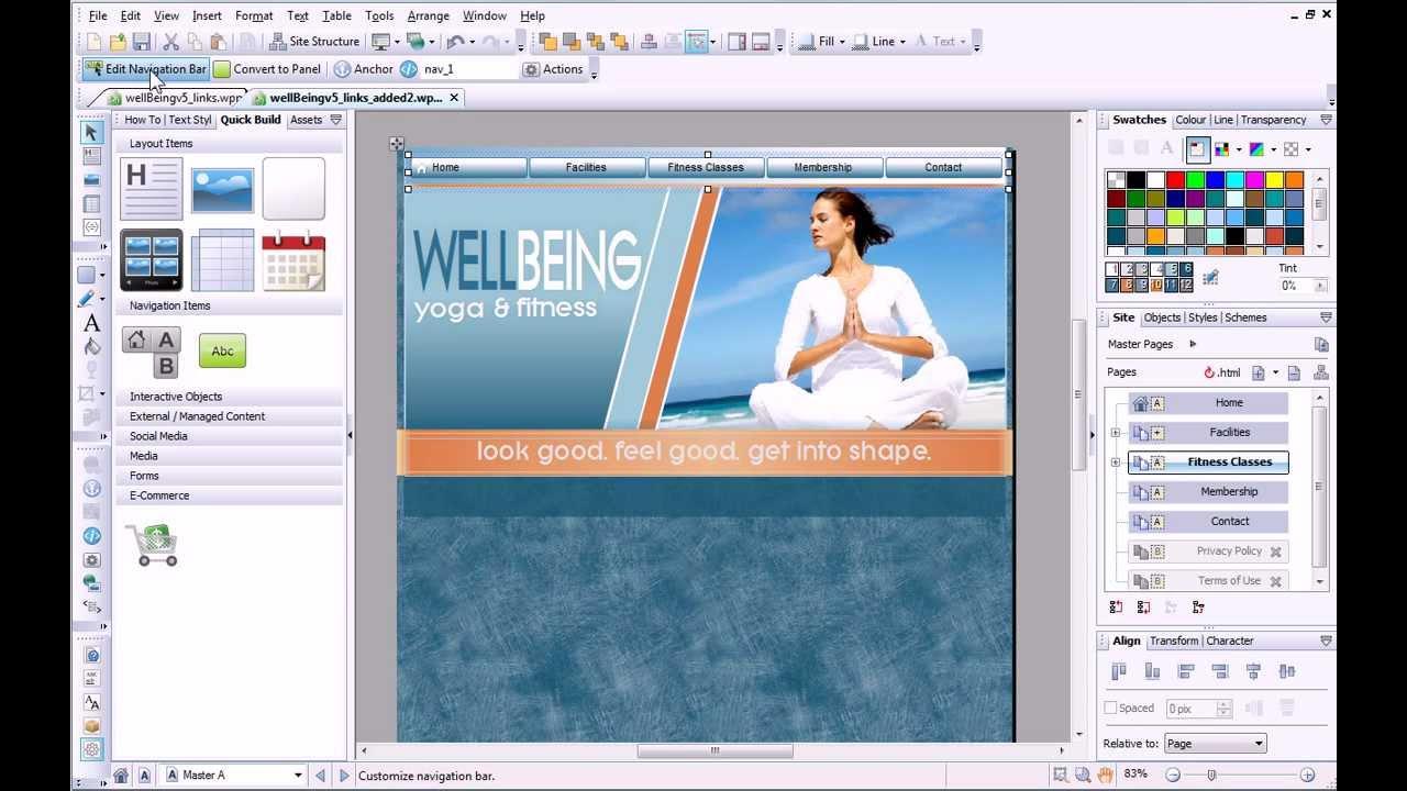 Webplus x6 tutorial