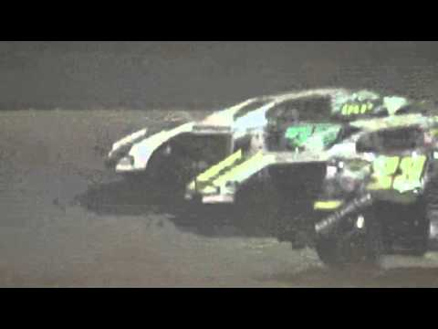 Ark La Tex Speedway Limited Modified A feature part 1 9/26/15