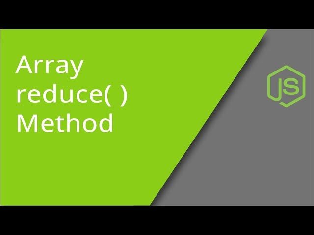 JavaScript Array reduce method