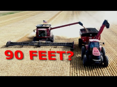 harvesting-wheat-90-feet-at-a-time-|-fast-ag-montana