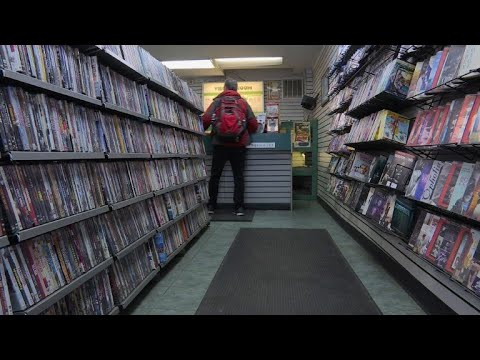 Disappearing jobs: renting DVDs in New York