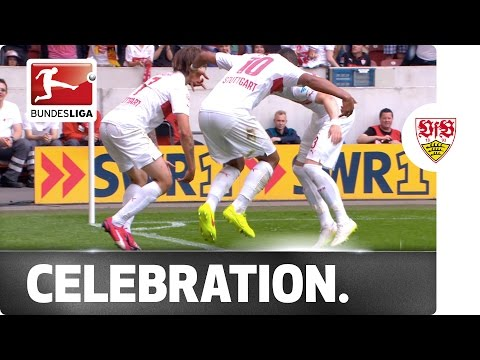 Gorilla Goal Celebration – Stuttgart's Harnik Goes Bananas!