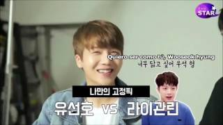 Video [SUB ESP] PENTAGON elige entre Yoo Seonho vs Lai Guanlin download MP3, 3GP, MP4, WEBM, AVI, FLV Desember 2017