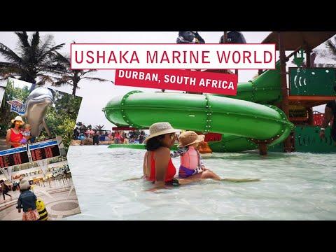 USHAKA MARINE WORLD   DURBAN, SOUTH AFRICA   FAMILY VLOG 8