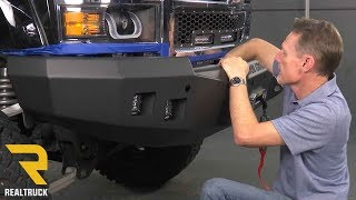 How to Install Road Armor Stealth Front Bumper on a 2014- 2015 Chevy Silverado 1500