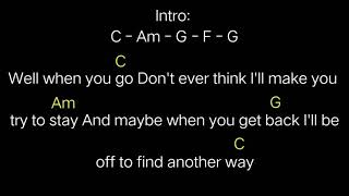 My Chemical Romance - I dont love you (chords)