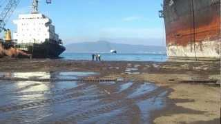 Hera Last Stop Beaching Ship HERA For Scrap Turkey ALİAGA ggd.