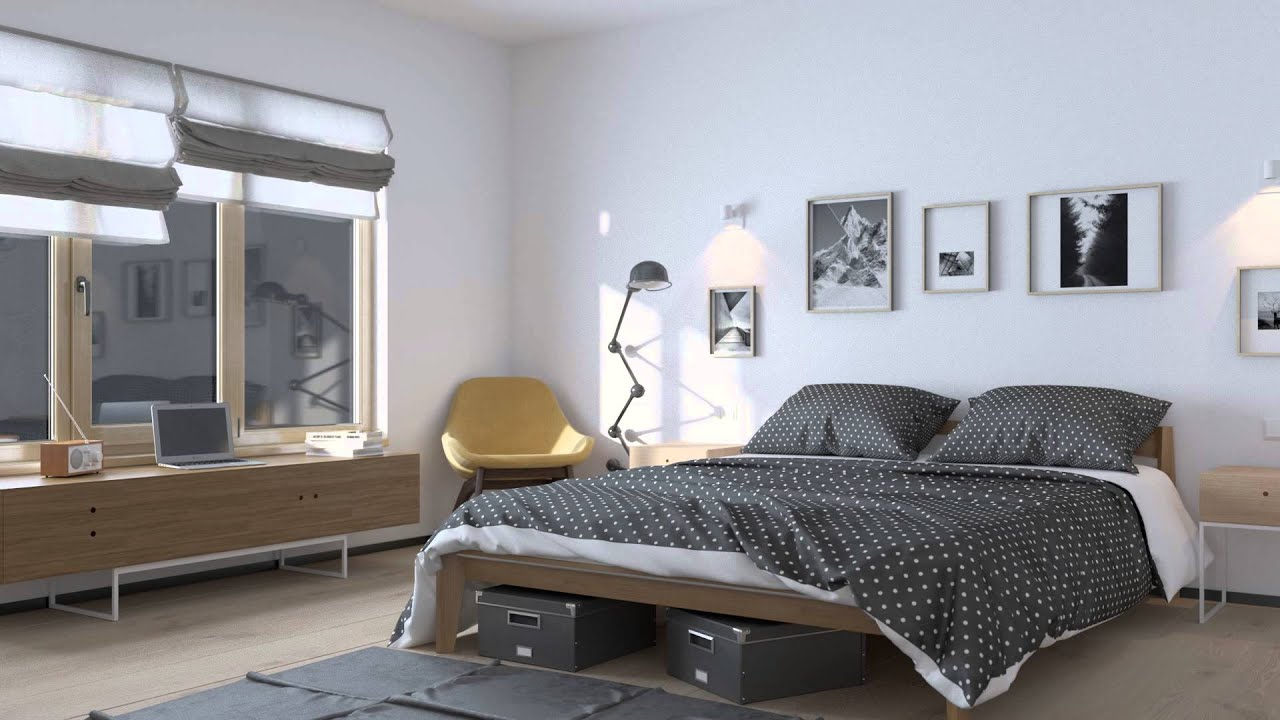 Vray RT GPU as Production : BedRoom - BF/LC - YouTube