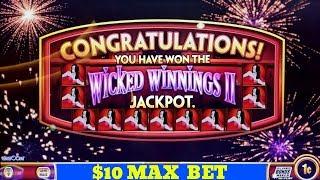 WONDER 4 Wicked Winnings 2 Slot Machine BACK TO BACK 🔥JACKPOTS WON 🔥   GREAT SESSION   Live Slot