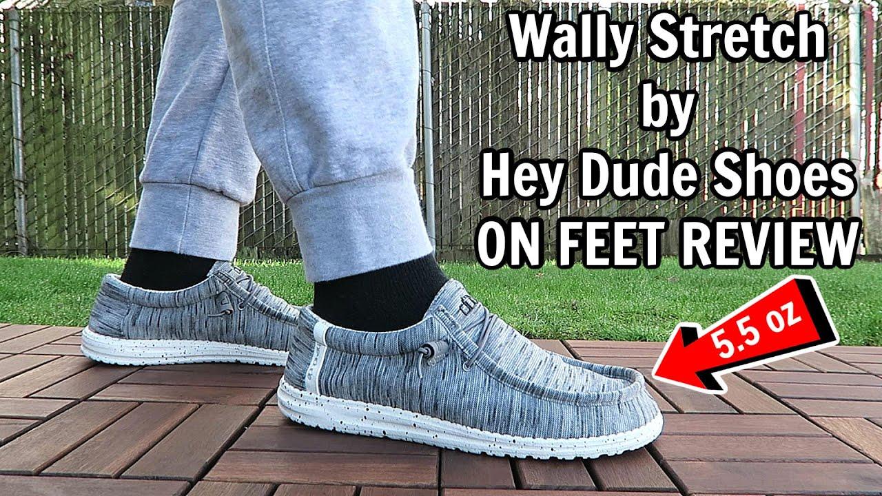 Hey Dude Mens Wally Stretch Casual Shoe