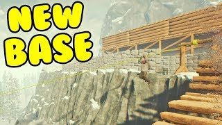 The Forest - Building A HUGE New Base! The Forest Base Building! (The Forest Gameplay)