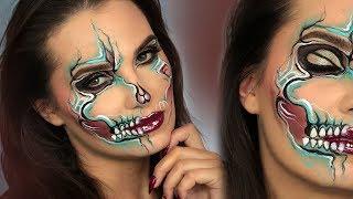 TOXIC SMOKE | Charakteryzacja na Halloween - Facechart Milk1422 | HALLOWEEN 2017