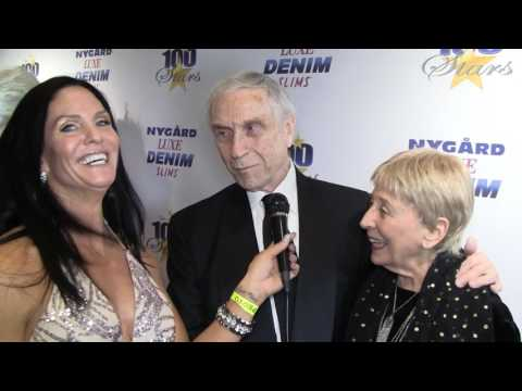 Traci Lynn  Cowan with Actor Peter Mark Richman