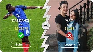 E' PIU' FAMOSO GAZ O LA DAB DANCE ?? ► THE HIGHER LOWER GAME #2 w/BRAINLESS! [SePPi] ITA ᴴᴰ