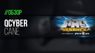 Обзор игровой мыши Qcyber Cane. Конкурент Kone Pure?