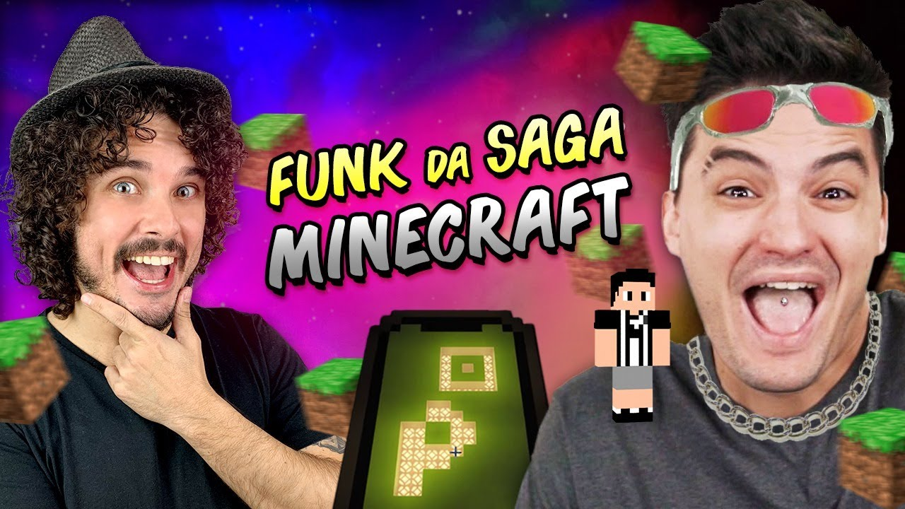 FUNK DO MINECRAFT ♫ SAGA DO FELIPE NETO #4