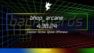CS:GO Bhop | bhop_arcane [TAS/Segmented] [backwards] - 4:38.24
