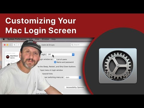 Customizing Your Mac Login Screen