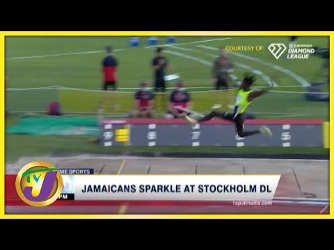Jamaicans Sparkles at Stockholm Diamond League 2021 - July 4 2021