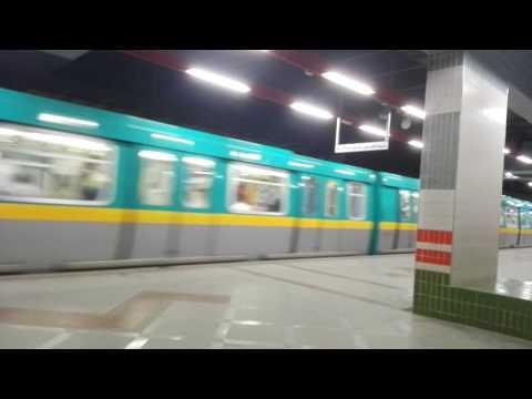 مترو الخط الجديدnew metro(underground)in cairo,Egypt