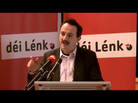 Congrès 2013 - Présentation de la résolution principale - Marc Baum