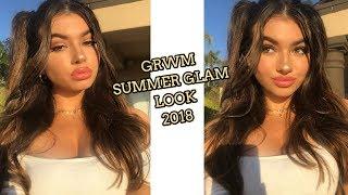 Chit Chat GRWM - Neutral Glam Look  Heather Faber