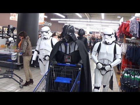 Darth Vader's Christmas shopping