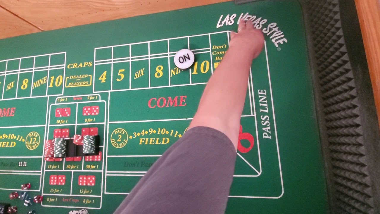 Craps Iron Cross Strategy