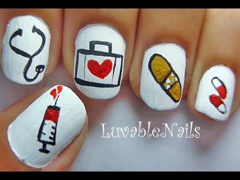 Doctor Nail Art By Luvablenails