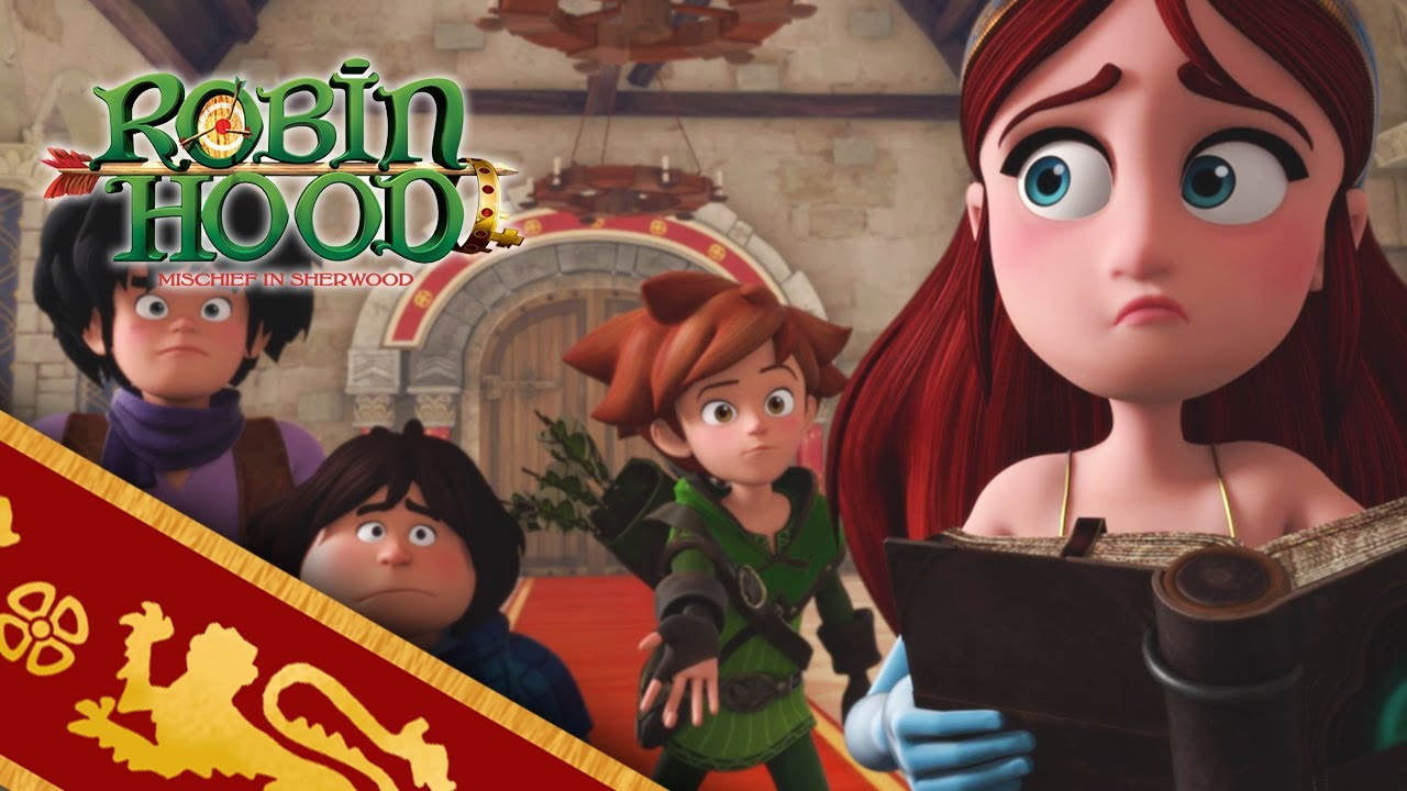 ROBIN HOOD 🏹 SEARCH FOR  THE SPELL BOOK 👑 Season 2