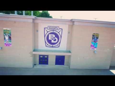 Ben Davis high school football field