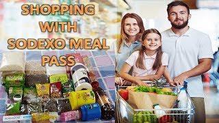 GROCERY SHOPPING WITH SODEXO MEAL PASS : REVIEW सोडेक्सो मील पास से किराना शॉपिंग और रिव्यू