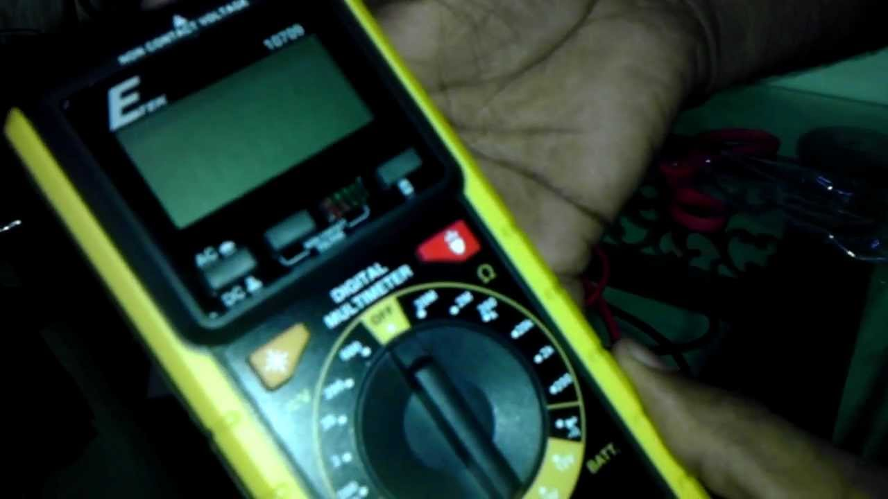 Etek 10709 Digital Multimeter : Etek digital multimeter unboxing review youtube