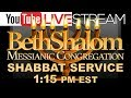 Beth Shalom Messianic Congregation Live 11-16-2019