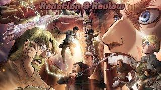 Attack On Titan ( 進撃の巨人 Shingeki No Kyojin ) Season 3 Part 2 Episode 8 Reaction & Review