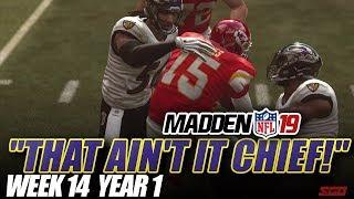Madden NFL 19 Franchise | THAT AIN