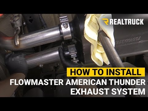 How to Install Flowmaster American Thunder Exhaust System on a 2019 Chevy/GMC 1500