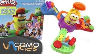 Juego de Play Doh Zampa bolas
