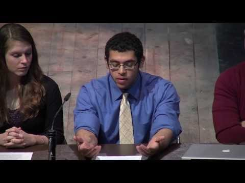 """""""A World Free of Nuclear Weapons?"""" Student Panel at Concordia College"""
