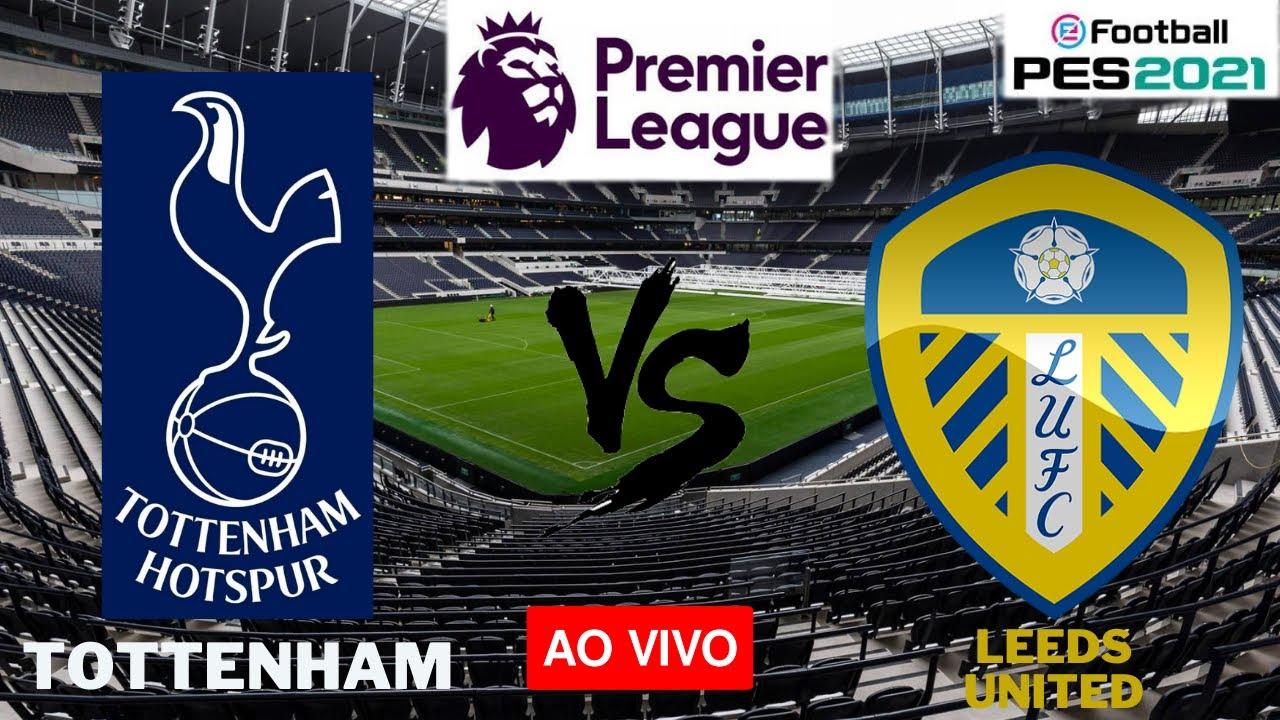 Tottenham X Leeds United Ao Vivo Premier League Pes 2021 Youtube